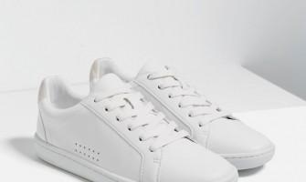 С чем носить белые женские кроссовки?