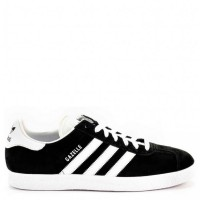 Кроссовки Adidas Gazelle Black/White