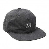 Кепка Obey Wilheim Strap-Back Hat Black
