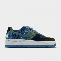 Кроссовки Nike Air Force 1 Low Travis Scott Blue