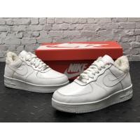 Низкие зимние кроссовки Nike Air Force