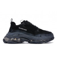 Кроссовки Balenciaga Triple S Clear Sole Black