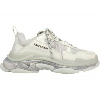 Кроссовки Balenciaga Triple S Clear Sole White Grey