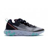 Кроссовки Nike React Element 87 Neptune Green Bright Mango