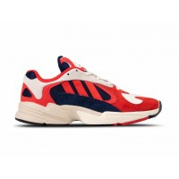Кроссовки Adidas Yung-1 - Chalk White/Collegiate Navy