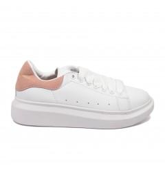Кроссовки Alexander McQueen x Adidas White Pink