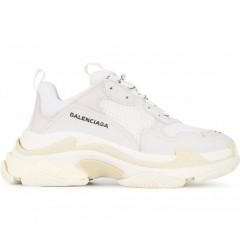 Кроссовки Balenciaga Triple S white Grey