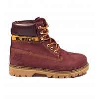 Женские Ботинки Caterpillar Boots Bordo