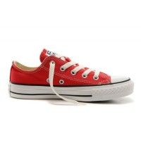 Низкие красные Converse All Star