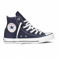 Высокие темно-синие кеды Converse All Star