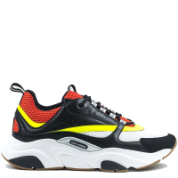 "Кроссовки Dior ""Homme B22 Calfskin Trainer White Red Yellow"""