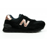 Кроссовки New Balance 574 Molten Metal Black