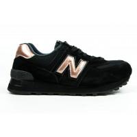 Кроссовки New Balance 574 Molten Metal Black