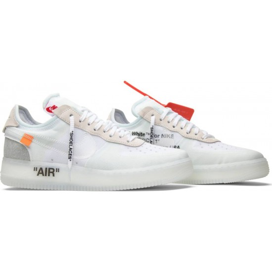 d455c036 Купить Кроссовки Nike x Off-White Air Force 1 Low Ice