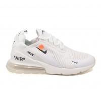 Кроссовки Nike Air Max 270 X Off-white All White
