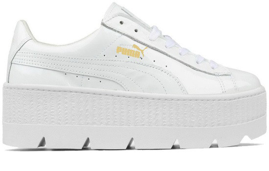 purchase cheap 46639 e461b Кроссовки Puma x Fenty Cleated Creeper Leather White