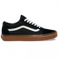 "Кеды Vans Old Skool ""Pro Black White Medium Gum"""