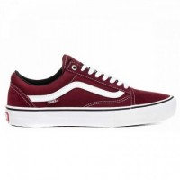 Бордовые кеды Vans Old Skool