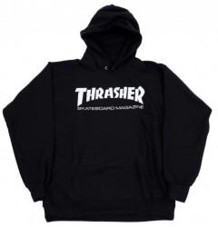 Худи Thrasher Mag Logo Hood 'The black'
