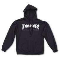 Худи Thrasher Mag Logo Hood 'The black'