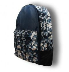 Рюкзак Diller Classic Blue Pattern