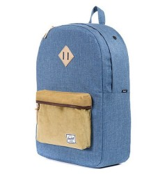 Рюкзак Herschel Supply Co. The Heritage Backpack in Navy Crosshatch & Straw