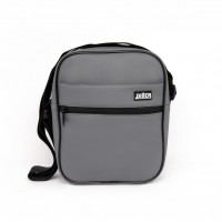 Сумка Diller Messenger Grey Leather